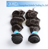100% Real Brazilian Virgin Human Hair Weft with Double Layers