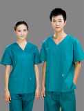 Short Sleeve Cotton Dentist Uniform