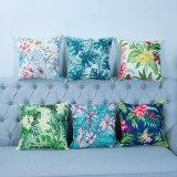 Digital Print Decorative Cushion/Pillow with Botanical&Floral Pattern (MX-21)