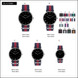 Promotion Sport Stainless Steel Fashion Lady Men′s Watches Quartz Nylon Wrist Watch