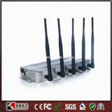 New 5 Bands Cell Phone Jammer WiFi Jammer