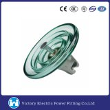 Overhead Line Used Glass Disc Suspension Insulator (LXP-210)