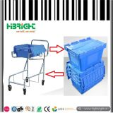Stackable Nestable Plastic Box Container with Lid