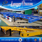 Aotong 20FT Skeleton Container Trailer for Sale (LAT9300TJZG)