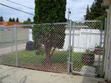 PVC Coated and Galvanized Chain Link Garden Fence