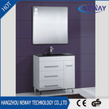 Wholesale Floor Standing Plastic Bathroom Cabinet with Mirror