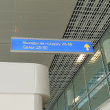 LED Direction Light Box Haniging Direction Sign