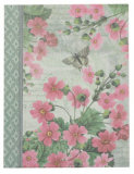 High Qualtiy A5 Printed Fabric Hardcover Notebook