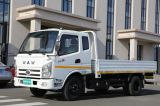 Platform 2000mm Waw Chinese Cab Light Truck