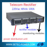 48V 100A Snmp Telecom Rectifier System