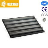 5 Rows Aluminum Alloy French Bread Bakery Tray