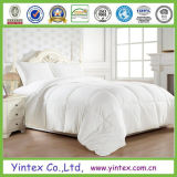 Super Soft 100% Cotton White Goose Down Comforter