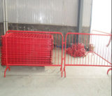 Powder Coated Crowd Control Barrier Fence/Steel Traffic Barrier for Events