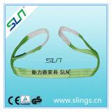 2t X 8m Double Eye Webbing Sling Safety Factor 6: 1