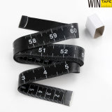 Custom Black Brand Design Black Tailor Measuring Tape Promotional Medical Gifts with Your Logo