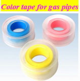 Colorful 100% PTFE Teflon Tape with ISO Certified
