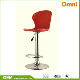 Colored Bar Leisure Chair with Plating Feet (OM-7-9K)