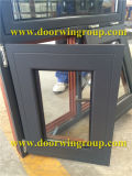 Canada Solid Oak Wood Aluminum Awning Window