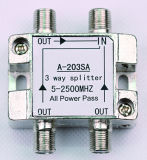 3way 5-2500MHz Smatv Splitter (SHJ-A203SA)
