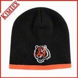 Polar Fleece Lined Reversible Beanie Hat (kimtex-309)