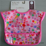 Pure Cotton Easy Cleaning Soft Baby Bib with Printing