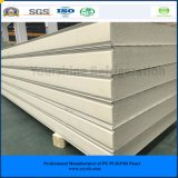 ISO, SGS 100mm Color Steel PIR Sandwich Panel for Meat/ Vegetables/ Fruit
