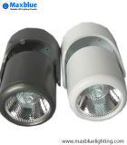 7W Ceiling Mounted COB LED Track Spot Lighting