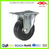 125mm Hard Rubber Fixed Plate Industrial Caster (D102-53B125X32)