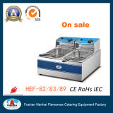 Electric Deep Fryer (HEF-82) with CE/RoHS Approval