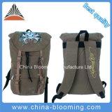 Canvas Daypack Travel Sports Drawstring Bag Rucksack Backpack