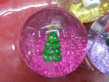 OEM Sell Glitter Bounce Crystal Toy Ball