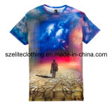 China Made Custom Design T-Shirts with Sublimation Print (ELTMTJ-161)