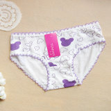 Cute Cartoon Pattern Printed Underwear Cotton Panty for Young Girls (TP-25141)