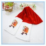 Factory Direct Sale Upscale Pleuche Christmas Scarf Santa Claus Scarf Christmas Decorations