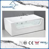 Rectangle Whrilpool Bathtub in White (AB0828)