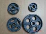 ISO9001 OEM Casting Parts Quality Cast Iron Cart Wheel