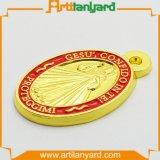 Customized Full 3D Metal Medal Plating Gold
