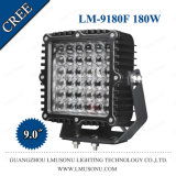 9 Inch 180W LED Driving Light Spot Flood Lamp Tractor Truck Trailer Offroad Lights