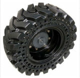 China Bobcat Tire Skidsteer Solid Tire, 10-16.5, 31X6X10, 33X6X11 Solid Tires Des Pneus Pleins