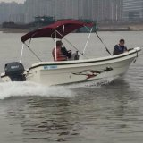 18FT FRP Outboard Type Center Console Fishing Boat Hot Sale