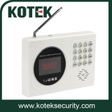 Intelligent 120 Zones GSM Alarm System with LCD Display
