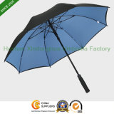 "54"" Arc Double Layer Canopy Fiberglass Golf Umbrella (GOL-0027FDA)"