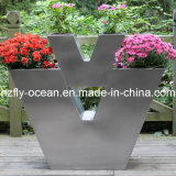 V-Type Stainless Steel Decor Planters (FO-9029)
