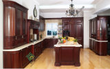 Kitchen Furniture, Solid Wood Kitchen Cabinet (zs-319)