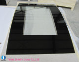 4mm 5mm Bent Printing Tempered Glass Panel for Electric Fireplace