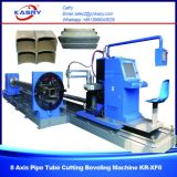 Steel Pipes Plasma Cutting Beveling Machine for Round Pipe and Square Tube Kr-Xf8