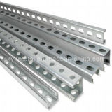 C Shape Steel Profile Section Slotted Unistrut Channel