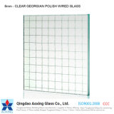 High Quality Low Price Patterned Wired Glass