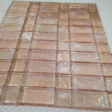 Pink Mosaic Marbles Glass Tile