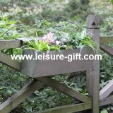 Fo-9041 Stainless Steel Railing Planter for Home&Garden Decorate
